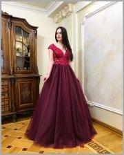 4ec844c1fed Выпускное платье 2019 цвет марсала. 5 030 грн